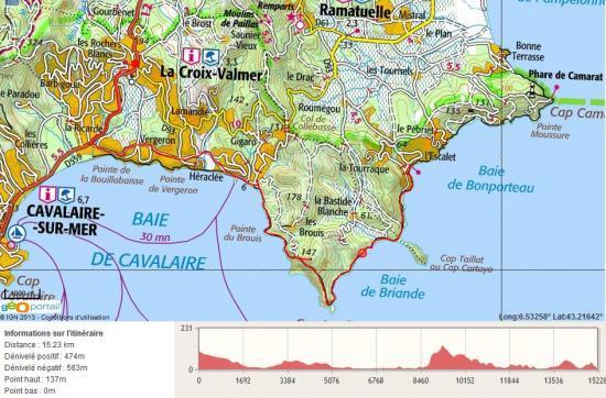 Guide des promenades - Office du tourisme la croix valmer ...